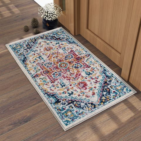 "Morrocan Area Rugs Tufting Carpets Rugs for Patio,Kitchen,Dining Room,Bedroom - 2'2"" x 4'"
