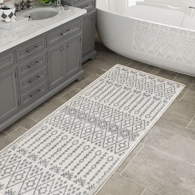 Buy White Kitchen Rugs Mats Online At Overstock Our Best Rugs