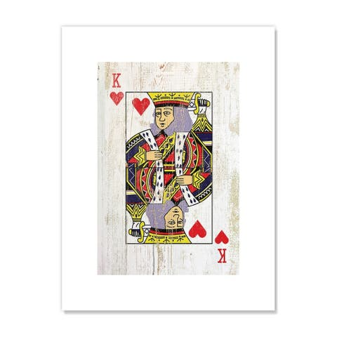 King of Hearts - Red