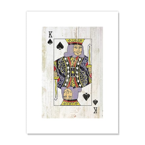 King of Spades - Red