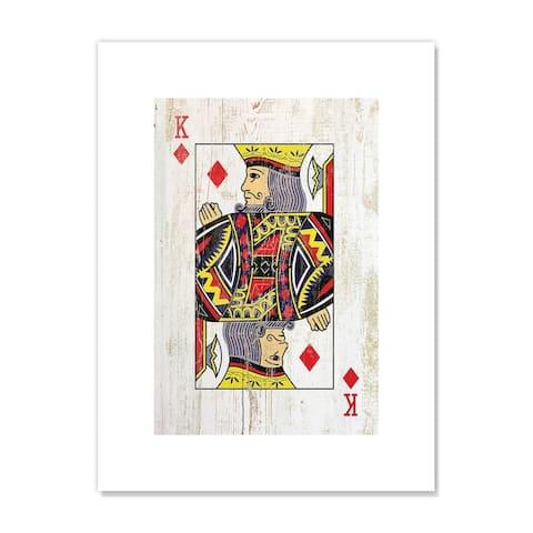King of Diamonds - Red