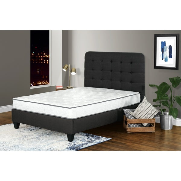 "Mattani 8"" Pocket Coil Mattress with Lumbar Gel. Opens flyout."