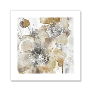 Taupe Spring Poppy II - Brown