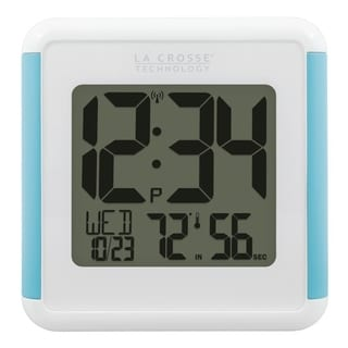 La Crosse Technology 515-1912 Shower Cube Clock with Temperature