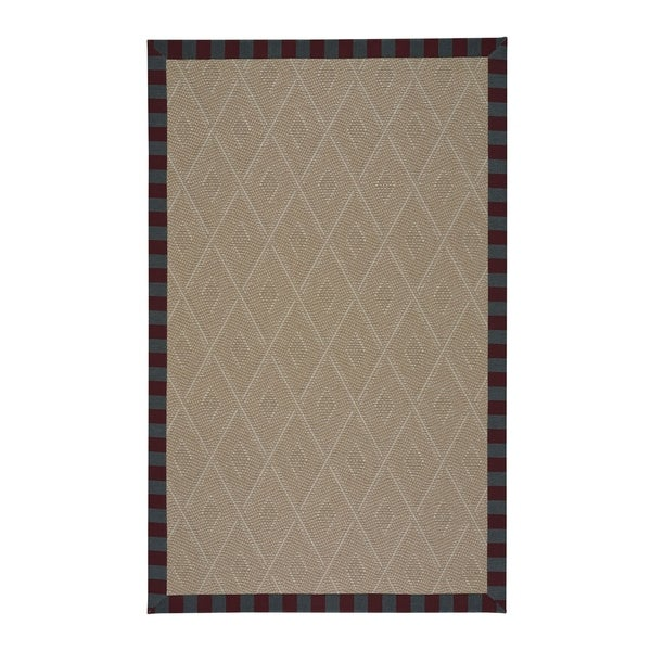 Biltmore Trellis Berry Machine-Woven Rectangle Rug - 15' x 13'