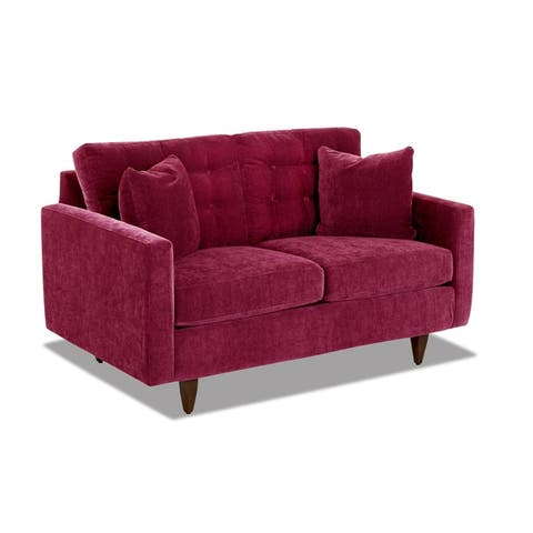 Carson Carrington Tackfallet Tufted Loveseat