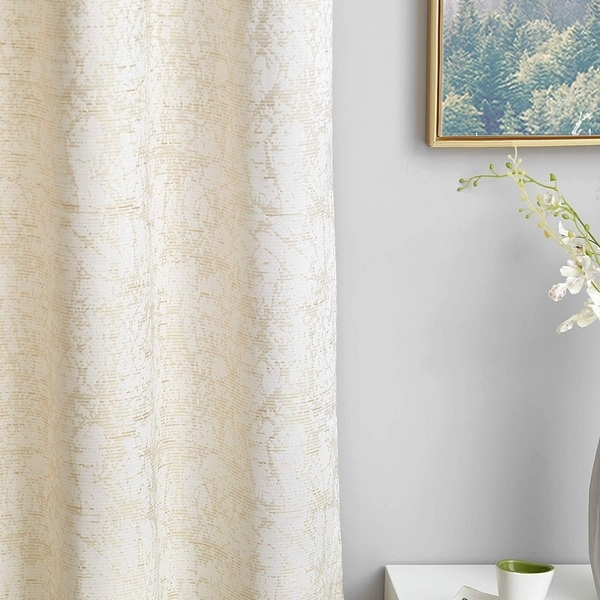 Don't Look at Me - Expandable Privacy Room Divider - White Frame with Jacquard Fabric