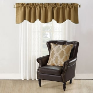 Copper Grove Hoorn Jacquard Valance and Pillow Sham 2-piece Set with Safi Pattern