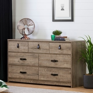 South Shore Sazena 7-Drawer Double Dresser