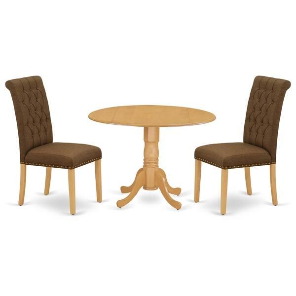 Parson Chairs In Dark Coffee Linen
