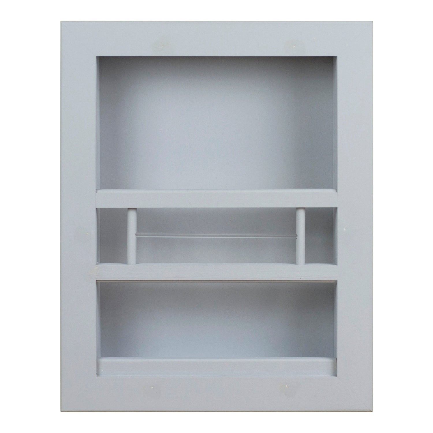 Shop Black Friday Deals On Hayden Recessed In Wall Bathroom Magazine Rack On Sale Overstock 29821204