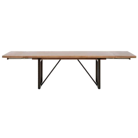 Brenna Extension Dining Table, Timber Brown