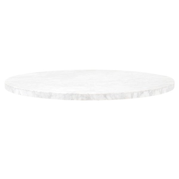 Portia Carrera Marble Round Dining Table Top. Opens flyout.