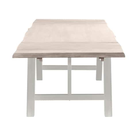Victoria Extension Dining Table, Natural Gray
