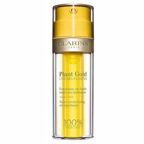 Clarins Plant Gold Nutri-Revitalizing 1.1-ounce Oil-Emulsion All Skin Types