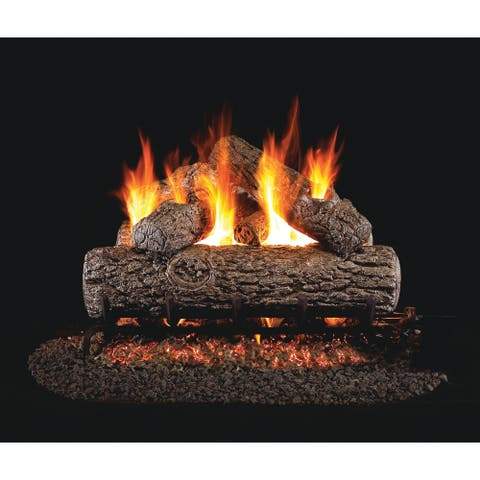 RH Peterson Real Fyre Classic Series Golden Oak 18 Inch Vented Gas Logs Logs only