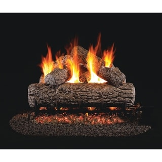 RH Peterson Real Fyre Classic Series Golden Oak 18 Inch Vented Gas Logs Logs only - N/A