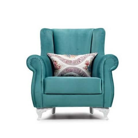 Claudy Living Room Chair, Green