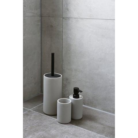 3-Piece Bathroom Accessories Set Differnz Jukon Gray