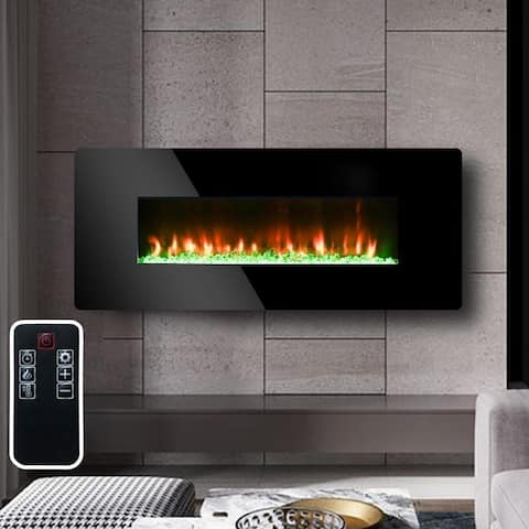Strick & Bolton Lawrence Indoor Wall-mounted Electric Fireplace