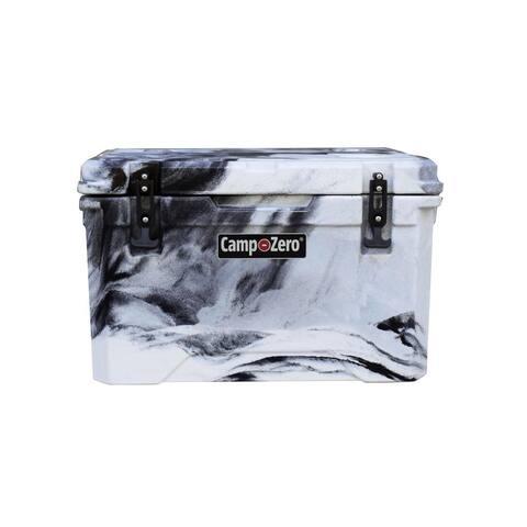Camp-Zero 42 Quart, 40 Liter Premium Swirl Design Cooler