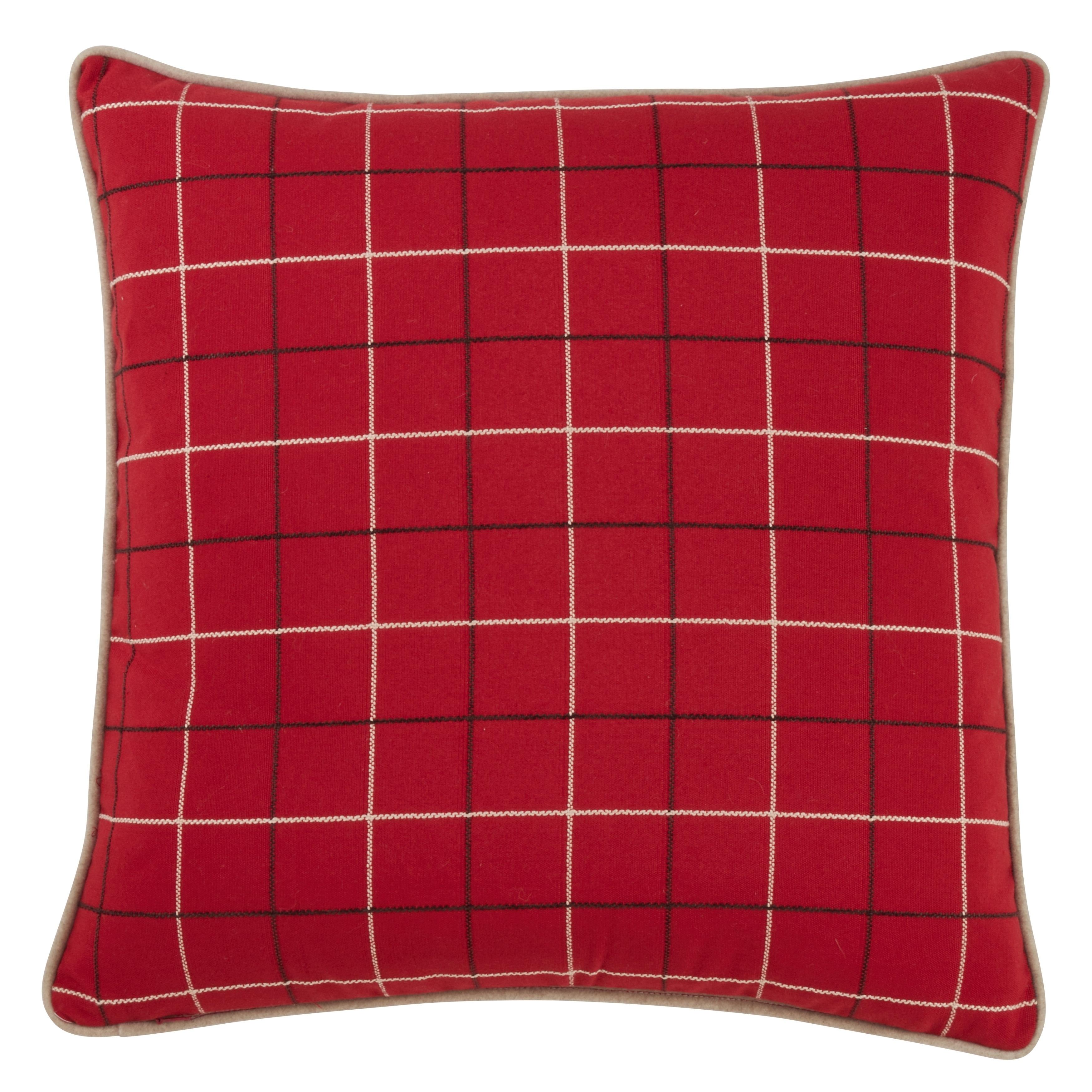 French Bulldog Design Plaid Christmas Pillow Overstock 29821723