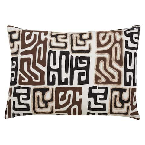 Kuba Cloth Throw Pillow