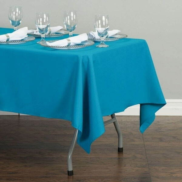 "Polyester Rectangle Tablecloth 60"" x 126"" Caribbean"