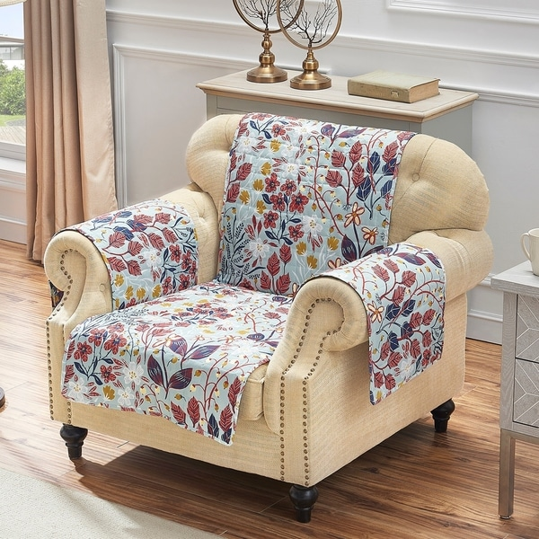 Barefoot Bungalow Perry Reversible Furniture Protector, Arm Chair - Armchair