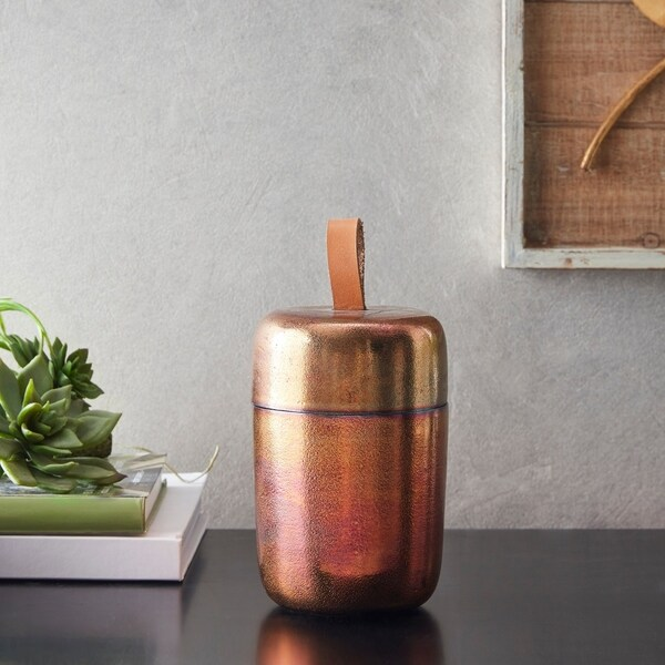 Madison Park Mina Gold Container