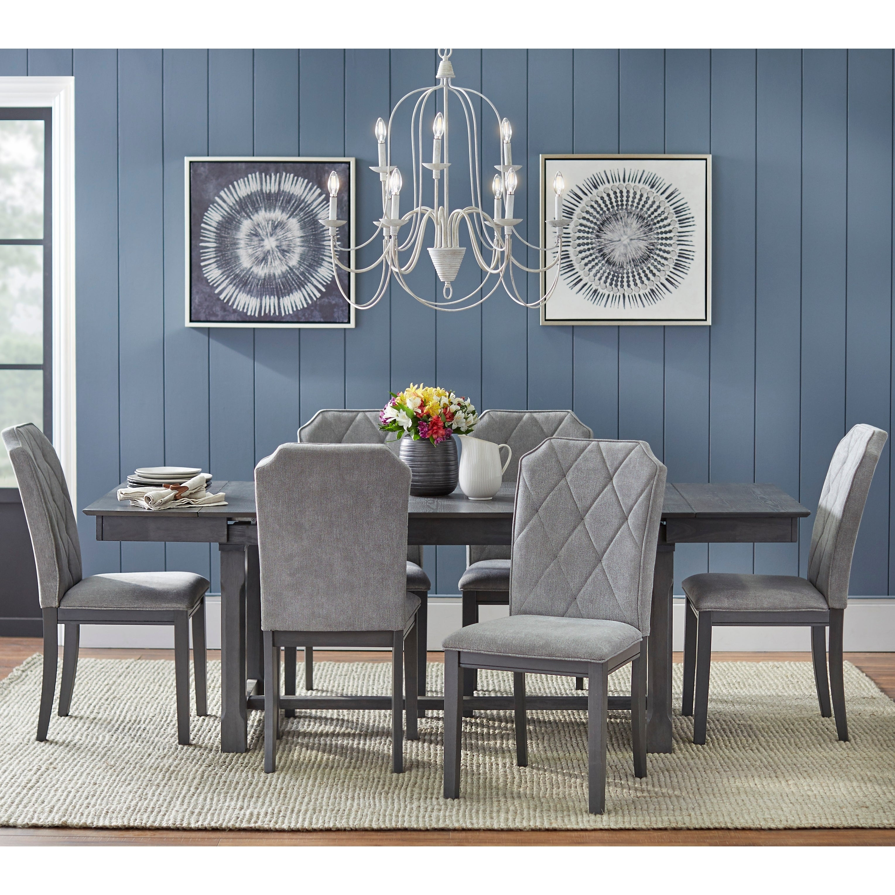 Simple Living Riga Expandable Dining Table