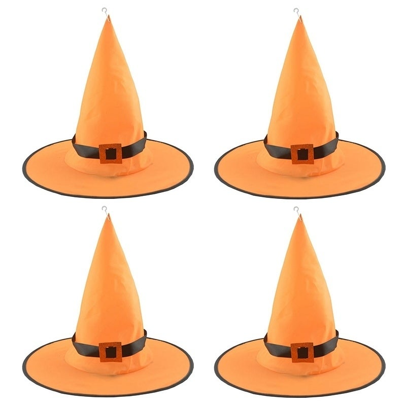 Halloween Witch Hat with LED Light Decor Party Costume Cosplay Props 0048