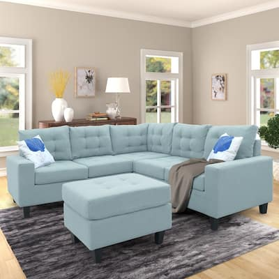 Buy Blue Sectional Sofas Online at Overstock | Our Best ...