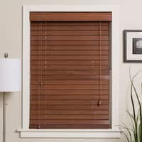 Arlo Blinds Customized 40-inch Real Wood Window Blinds