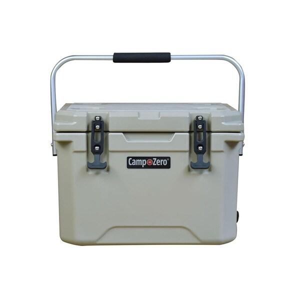 Camp-Zero 21 Quart, 20 Liter Premium Cooler / Beige. Opens flyout.