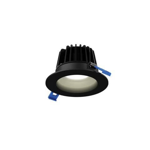 Dals Lighting 6 Inch Recessed Round Smooth Baffle Led