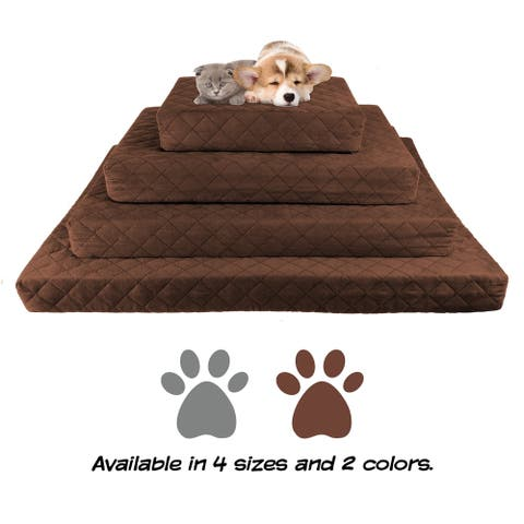 Waterproof Memory Foam Pet Bed by PETMAKER