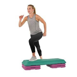 Sunny Health & Fitness No. 049 Deluxe Aerobic Step|https://ak1.ostkcdn.com/images/products/2982696/P11134559.jpg?impolicy=medium
