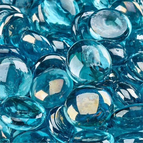 Fire Glass Beads Indoor and Outdoor Fire Pits or Fireplaces 10 Pounds