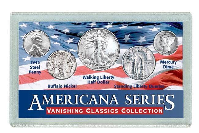 American Coin Treasures American Vanishing Classics Coin Set