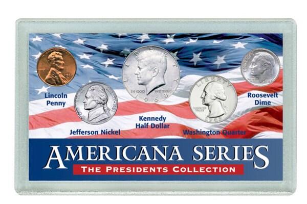 American Coin Treasures Americana Presidents Collectible Coin Set