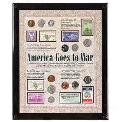 American Coin Treasures 'America Goes to War' Coin Collection