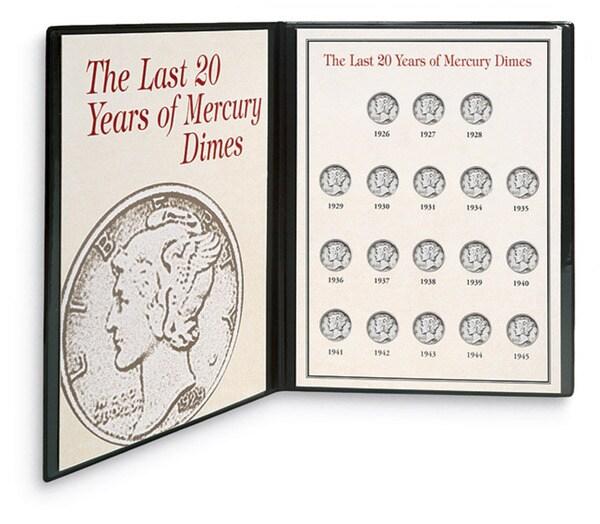 American Coin Treasures Last Twenty Years of Mercury Dimes