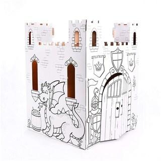 Easy Playhouse Fairy Tale Castle Cardboard Playhouse