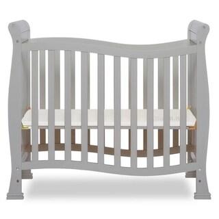 Dream On Me, Piper 4-in-1 Convertible Mini Crib, Pebble Grey