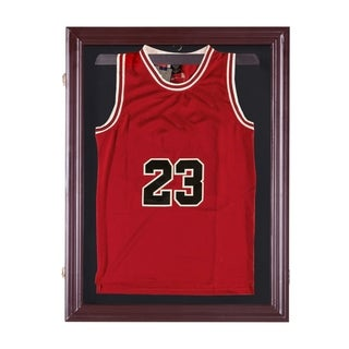 "HOMCOM 32"" x 24"" UV-Resistant Sports Jersey Frame Display Case"