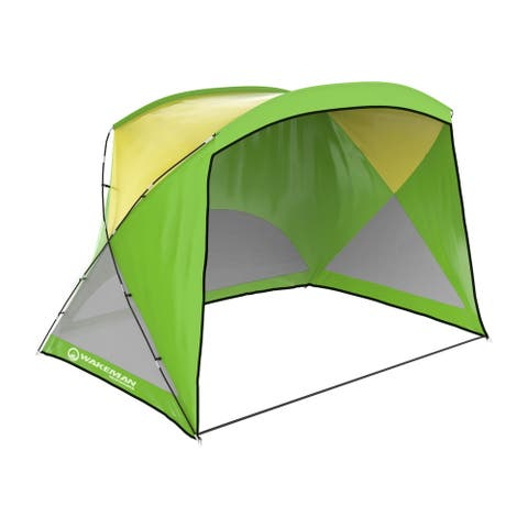 Water Resistant Beach Tent with Carrying Bag by Wakeman Outdoors - 108 x 75 x 70