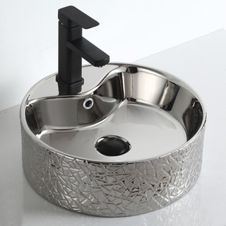 """Link to Titania """"Imperial Jewel Collection"""" Silver Vessel Sink Similar Items in Sinks"""