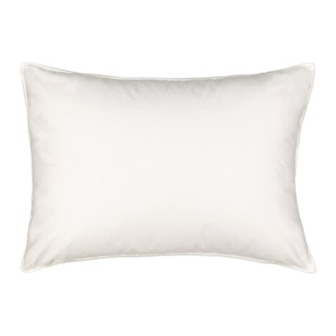 Waverly Smart Feather Medium Support Pillow - White