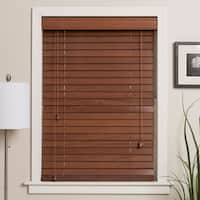 Arlo Blinds Customized 50-inch Real Wood Window Blinds